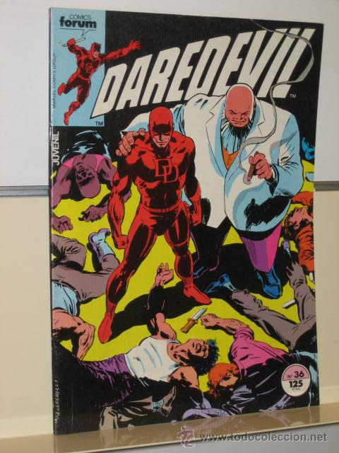 DAREDEVIL VOL. 1 Nº 36 - FORUM (Tebeos y Comics - Forum - Daredevil)