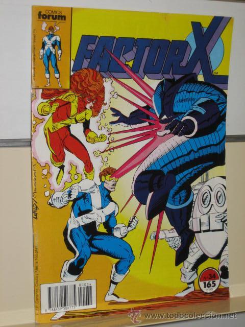 FACTOR X VOL. 1 Nº 34 - FORUM (Tebeos y Comics - Forum - Factor X)