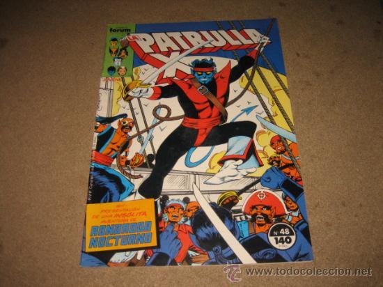 LA PATRULLA X Nº 48 FORUM (Tebeos y Comics - Forum - Patrulla X)