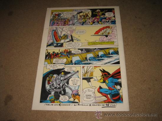 Cómics: LA PATRULLA X Nº 48 FORUM - Foto 2 - 25285862