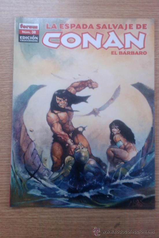 ESPADA SALVAJE DE CONAN EL BARBARO EDICION COLECCIONISTA #38 (Tebeos y Comics - Forum - Conan)