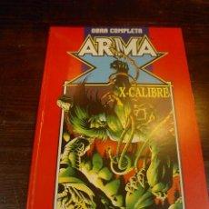 Cómics: FORUM, RETAPADO, OBRA COMPLETA ARMA X + XCALIBRE. Lote 25454474