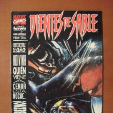 Comics : DIENTES DE SABLE Nº 3 DE 4 -- FORUM - MARVEL --. Lote 25520149