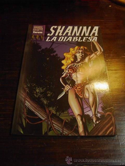 MARVEL COMIC, SHANNA, LA DIABLESA, COMIC FORUM (Tebeos y Comics - Forum - Prestiges y Tomos)