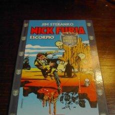 Cómics: NICK FURIA, ESCORPIO, JIM STEVANKO, COMIC FORUM. Lote 25572678