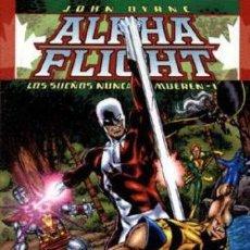 Comics : TOMO Nº1 DE ALPHA FLIGHT DE JOHN BYRNE: LOS SUEÑOS NUNCA MUEREN. Lote 25902909