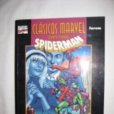 Cómics: SPIDERMAN CLÁSICOS EN B/N GERRY CONWAY JOHN ROMITA STAN LEE. NUEVO--MARVEL FORUM. Lote 27211638