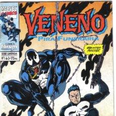 Cómics: VENENO. PIRA FUNERARIA. Nº 1 DE 3. Lote 27090686