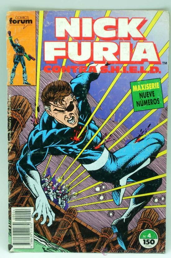 NICK FURIA CONTRA SHIELN Nº 4 CÓMIC FORUM 1989 (Tebeos y Comics - Forum - Furia)