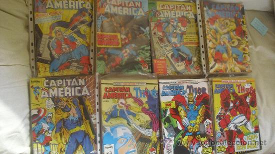 Cómics: CAPITÁN AMÉRICA VOL 1 COMPLETA - 76 NºS - MARVEL TWO IN ONE CON THOR - Y VOL 2 13 NÚMEROS - Foto 2 - 32886189