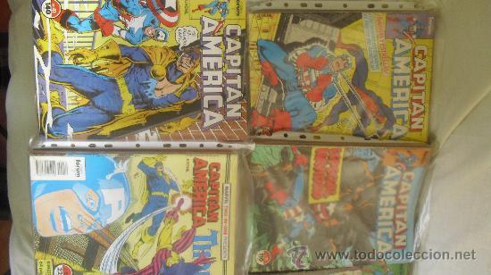 Cómics: CAPITÁN AMÉRICA VOL 1 COMPLETA - 76 NºS - MARVEL TWO IN ONE CON THOR - Y VOL 2 13 NÚMEROS - Foto 3 - 32886189