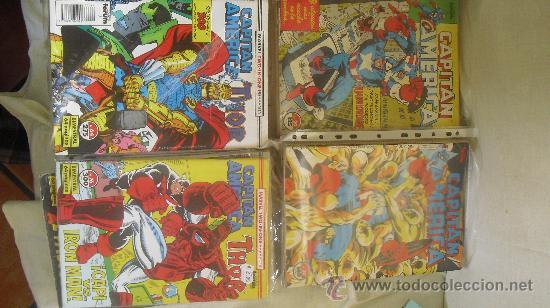 Cómics: CAPITÁN AMÉRICA VOL 1 COMPLETA - 76 NºS - MARVEL TWO IN ONE CON THOR - Y VOL 2 13 NÚMEROS - Foto 4 - 32886189