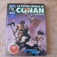Comics : LA ESPADA SALVAJE DE CONAN,Nº 7,2ª EDICION,ED. FORUM,AÑO 1991,TAPA DURA. Lote 26022098