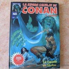 Cómics: LA ESPADA SALVAJE DE CONAN,Nº 3,2ª EDICION,ED. FORUM,AÑO 1990,TAPA DURA. Lote 26022146