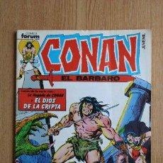 Cómics: CONAN EL BÁRBARO. Nº 1. LA LLEGADA DE CONAN Y EL DIOS DE LA CRIPTA.. Lote 40908746