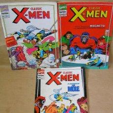 Cómics: CLASSIC X-MEN VOL 2 FORUM - NºS 1 2 4. Lote 26565950