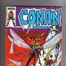 Cómics: (M-13) CONAN EL BARBARO , COLECCION 5 NUMEROS, NUM. 56-57-58-59-60 , EDT FORUM, SEÑALES DE USO. Lote 26843074