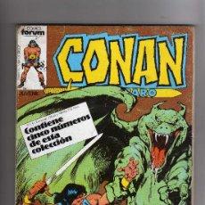Cómics: (M-13) CONAN EL BARBARO -CONTIENE 5 NUMEROS, NUM. 66-67-68-69-70., EDT FORUM, SEÑALES DE USO. Lote 26843150