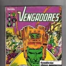 Cómics: (M-13) VENGADORES - CONTIENE 5 NUMEROS, NUM. 46-47-48-49-50 , EDT FORUM , SEÑALES DE USO. Lote 26843204