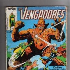 Cómics: (M-13) LOS VENGADORES - CONTIENE 5 NUMEROS , NUM 6-7-8-9-10 , EDT FORUM, SEÑALES DE USO. Lote 26843237