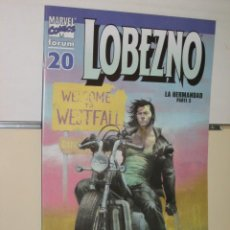 Cómics: LOBEZNO VOL. 3 Nº 20 FORUM. Lote 145798426