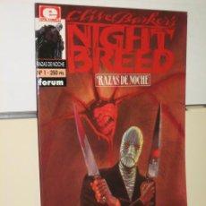 Cómics: NIGHT BREED - RAZAS DE NOCHE Nº 1 - FORUM. Lote 26868822