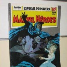 Cómics: MARVEL HEROES ESPECIAL PRIMAVERA AÑO 1989 - FORUM. Lote 157382768