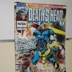 Cómics: DEATH´S HEAD II Nº 9 - FORUM. Lote 262630175