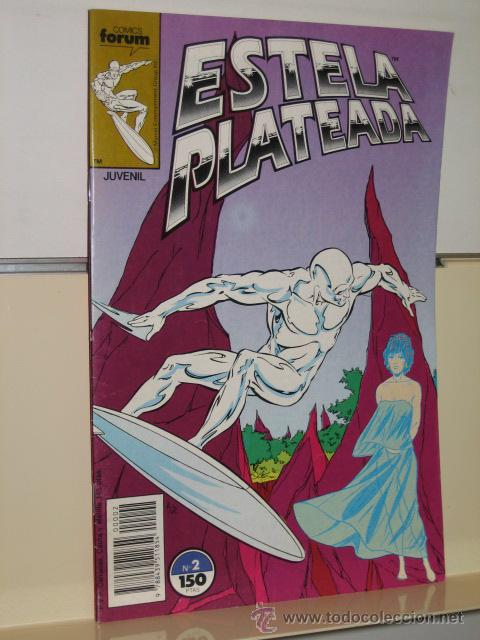 ESTELA PLATEADA VOL. 1 Nº 2 - FORUM (Tebeos y Comics - Forum - Silver Surfer)
