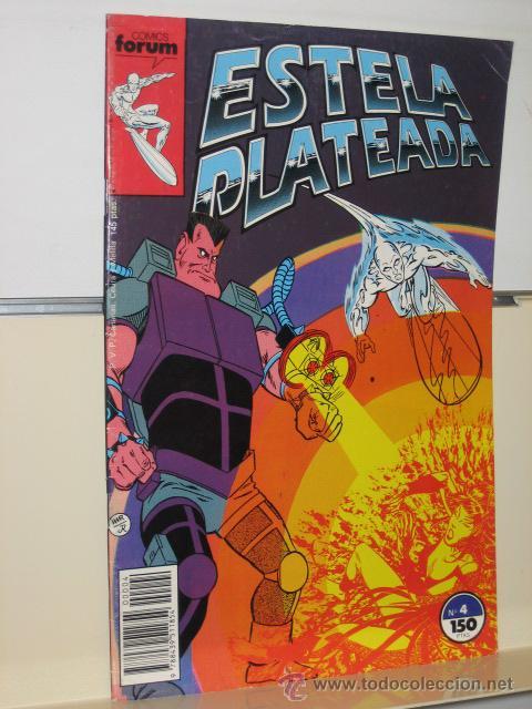 ESTELA PLATEADA VOL. 1 Nº 4 - FORUM (Tebeos y Comics - Forum - Silver Surfer)