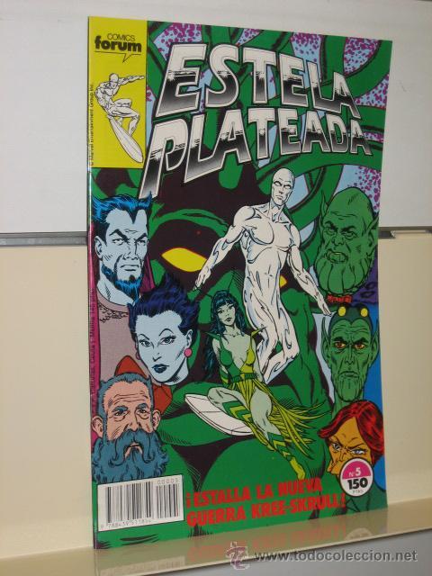 ESTELA PLATEADA VOL. 1 Nº 5 - FORUM (Tebeos y Comics - Forum - Silver Surfer)