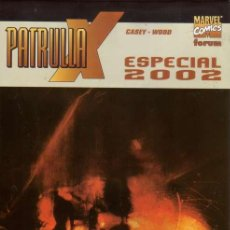Cómics: PATRULLA-X ESPECIAL 2002 (FORUM,2002) - ASHLEY WOOD. Lote 26909054