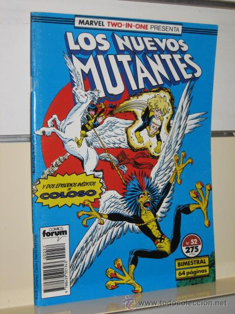 LOS NUEVOS MUTANTES Nº 52 - FORUM (Tebeos y Comics - Forum - Nuevos Mutantes)