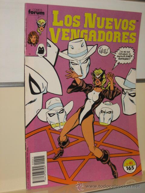 LOS NUEVOS VENGADORES Nº 41 - FORUM (Tebeos y Comics - Forum - Otros Forum)