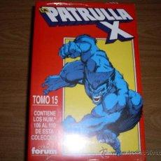 Cómics: FORUM RETAPADO LA PATRULLA X IMPECABLE COMO NUEVO TOMO 15. Lote 27033273