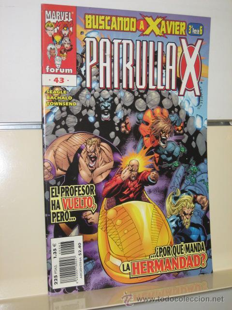 PATRULLA X VOL. 2 Nº 43 - FORUM (Tebeos y Comics - Forum - Patrulla X)