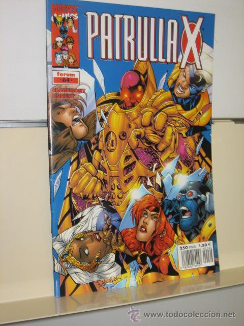 PATRULLA X VOL. 2 Nº 64 - FORUM (Tebeos y Comics - Forum - Patrulla X)