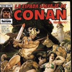 LA ESPADA SALVAJE CONAN Nº 98 - SERIE ORO - FORUM 1990