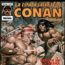 LA ESPADA SALVAJE CONAN Nº 89 - SERIE ORO - FORUM 1989