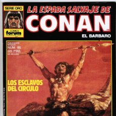 LA ESPADA SALVAJE CONAN Nº 85 - SERIE ORO - FORUM 1989