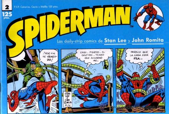 SPIDERMAN Nº 2 - STAN LEE/JOHN ROMITA - FORUM (Tebeos y Comics - Forum - Spiderman)