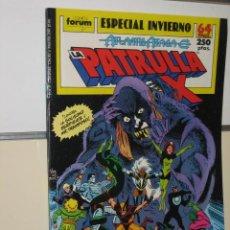 Cómics: LA PATRULLA X ESPECIAL INVIERNO AÑO 1989 - FORUM. Lote 180312755