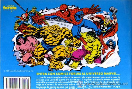 Cómics: SPIDERMAN Nº 2 - STAN LEE/JOHN ROMITA - FORUM - Foto 2 - 27225282