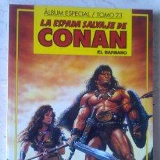 Cómics: LA ESPADA SALVAJE DE CONAN EL BARBARO - TOMO 23. Lote 27441459