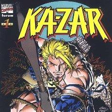 Cómics: KA-ZAR VOL.1 Nº 1 A 14 + RELATOS DEL UNIVERSO MARVEL - FORUM (ETAPA WAID/KUBERT COMPLETA). Lote 27516383