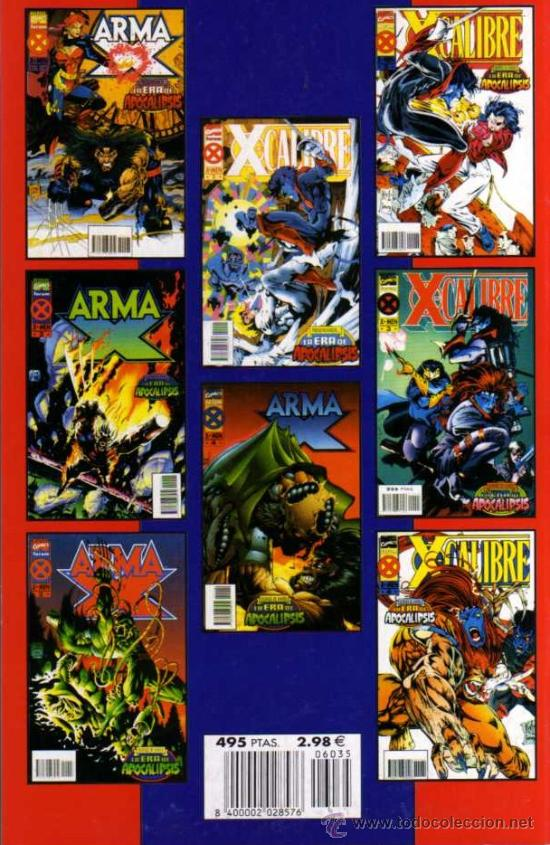 Cómics: X-MEN - ARMA Y X-CALIBRE - OBRA COMPLETA - RETAPADO - FORUM - Foto 2 - 173432017
