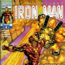 Cómics: IRON MAN Nº 4 - EL ATAQUE DE TIZÓN - MARVEL / FORUM. Lote 27681331