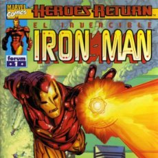 Cómics: IRON MAN Nº 1 - HEROES RETURN - MARVEL / FORUM. Lote 27681361