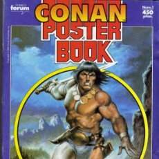 Cómics: CONAN POSTER BOOKS Nº 1 - FORUM. Lote 74030651