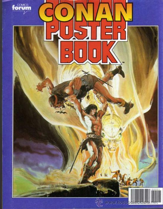 Cómics: CONAN POSTER BOOKS Nº 1 - FORUM - Foto 2 - 74030651
